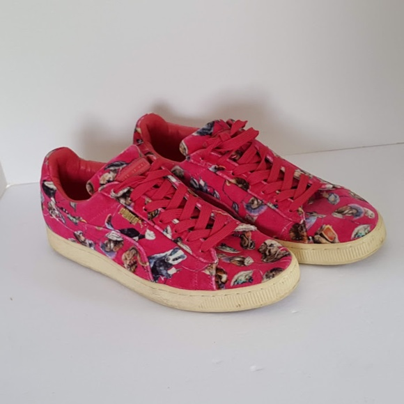 detailed pictures a3d15 9de45 Puma Sneakers House of Hackney Basket Classic Pink